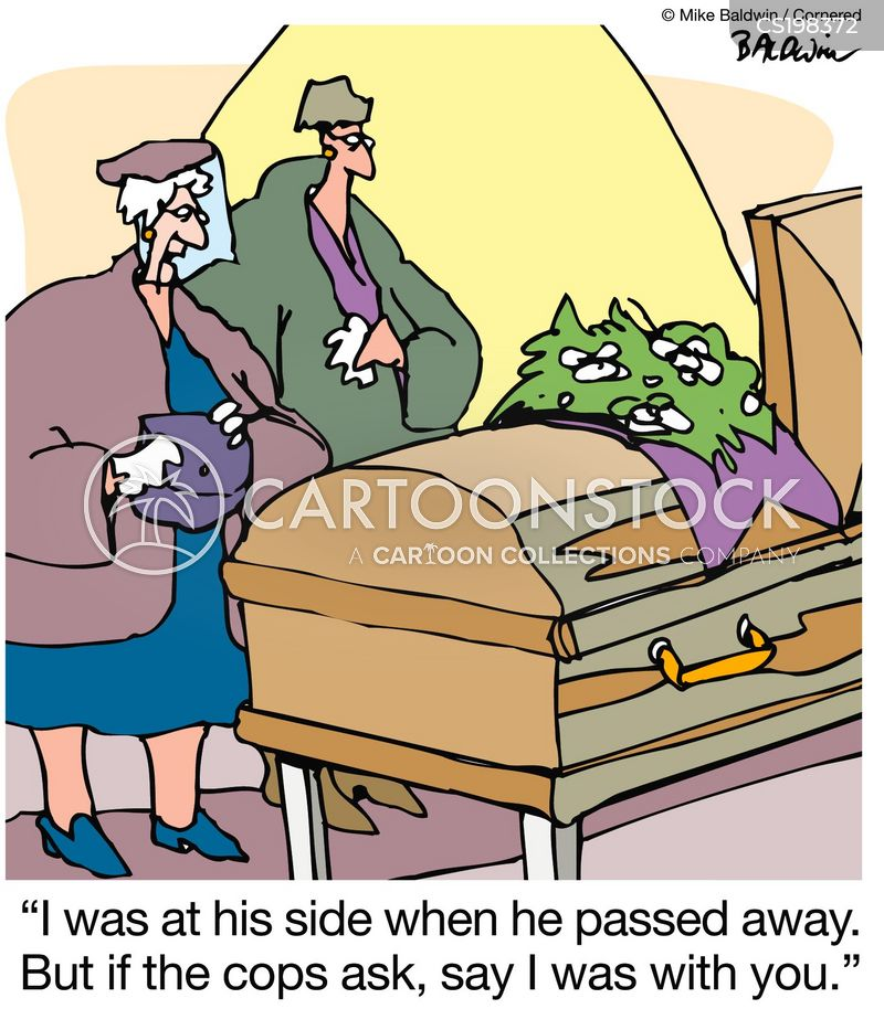 Passed Away Cartoons and Comics - funny pictures from ...