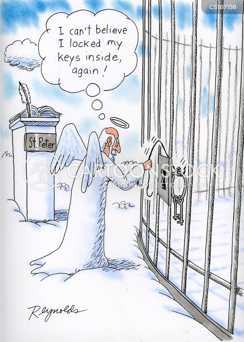 The Pearly Gates Cartoons And Comics Funny Pictures From