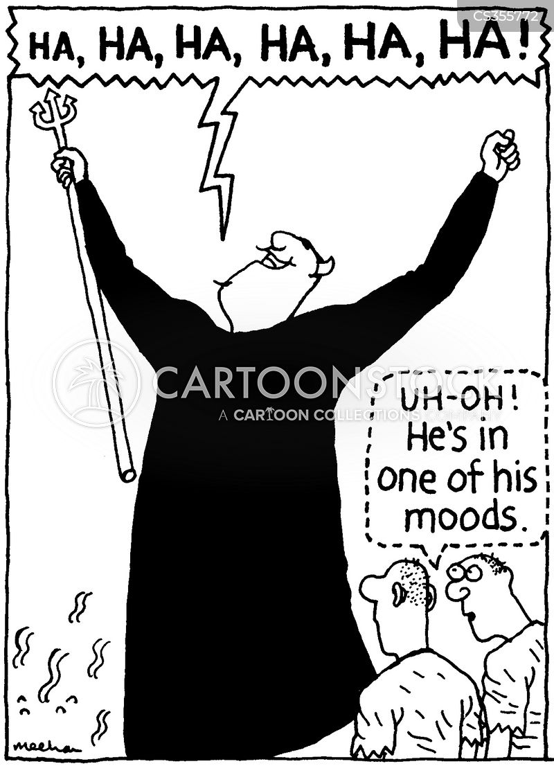 Evil Laugh Cartoons and Comics - funny pictures from ...