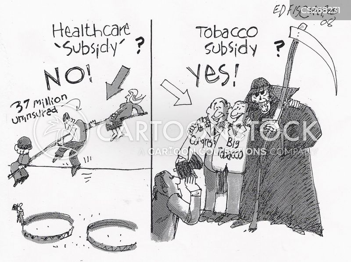 Tobacco Industries Cartoons And Comics