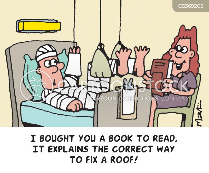 Roof Repairs Cartoons And Comics Funny Pictures From