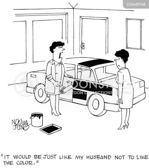 Car Paint Cartoons And Comics