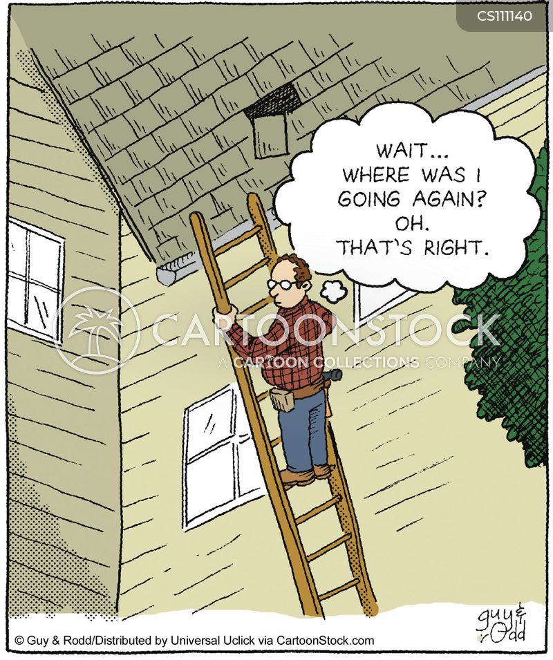 Roofer Cartoons And Comics Funny Pictures From Cartoonstock