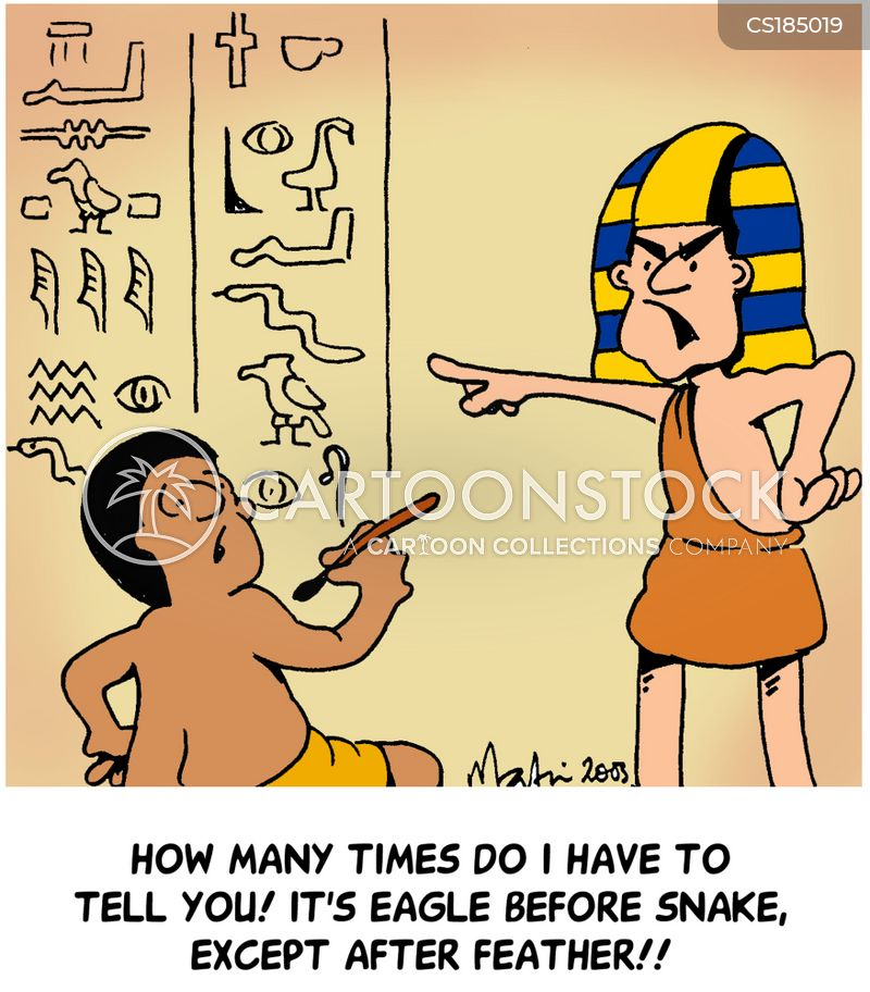 Funny Pictures About Egypt: A Before E Cartoons And Comics