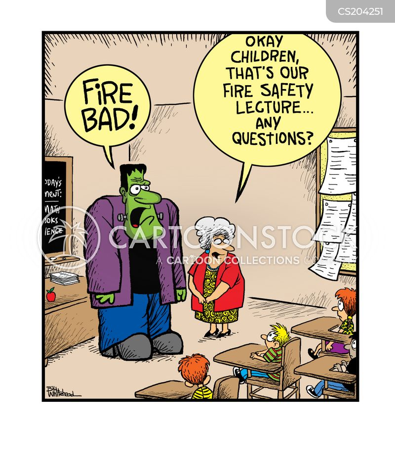 Fire Safety Cartoons And Comics Funny Pictures From