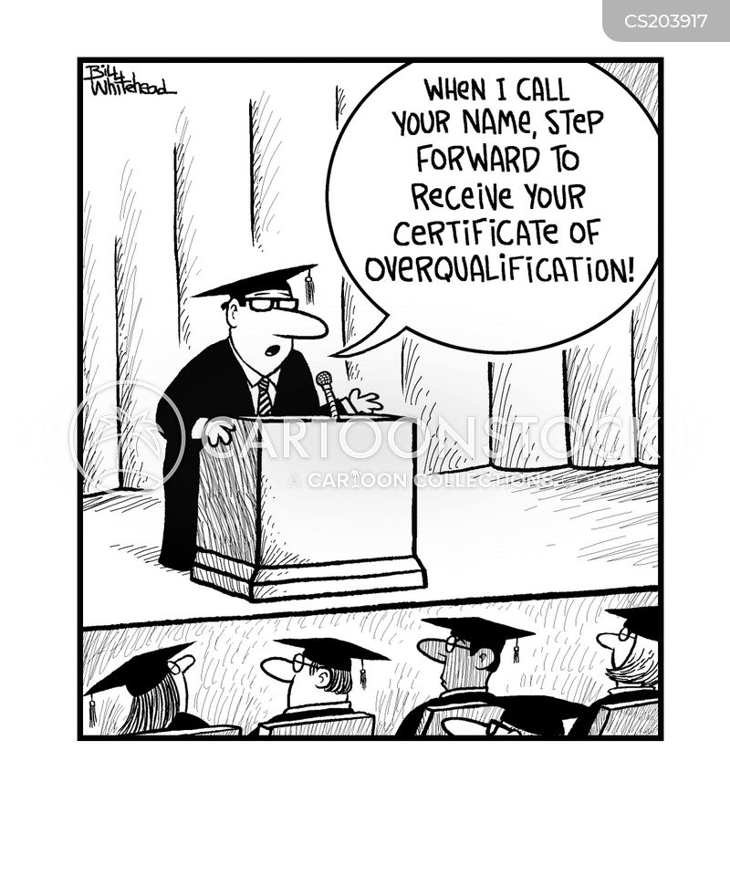 Overqualified Cartoons And Comics Funny Pictures From