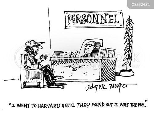 job resume cartoons and comics