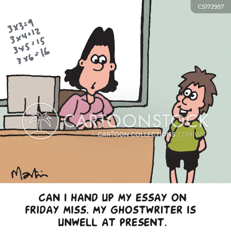 Ghost writer for homework assignments