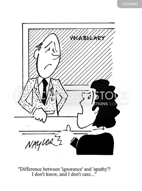 Semantics Cartoons And Comics Funny Pictures From Cartoonstock