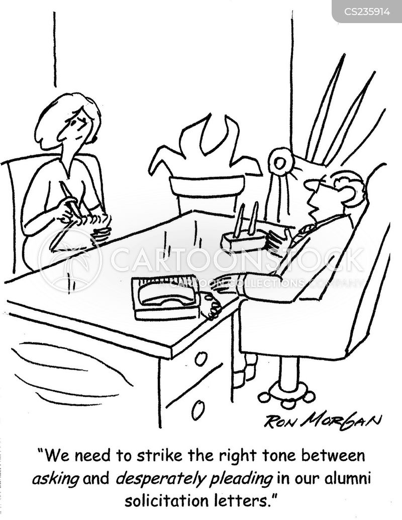 Solicitation Letter Cartoons And Comics Funny Pictures