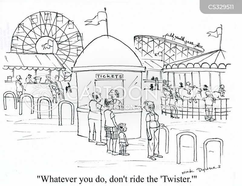 Fun Fair Rides Cartoons And Comics Funny Pictures From