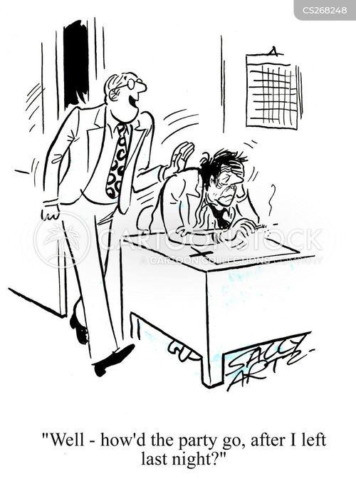 morningafter hangovers cartoons and comics funny