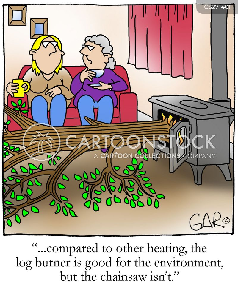 Log Burner Cartoons And Comics Funny Pictures From