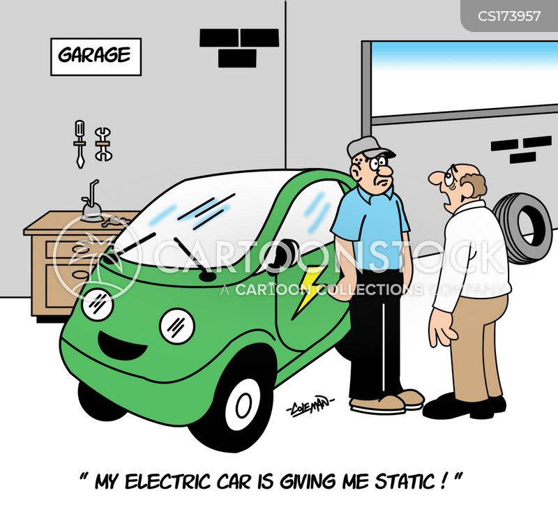 Electric Shock Cartoons And Comics Funny Pictures From