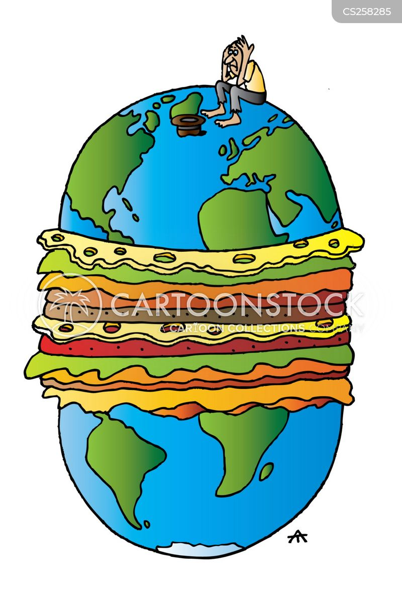 Fast Food Cartoon, Fast Food Cartoons, Fast Food Bild, Fast Food Bilder, Fast Food Karikatur, Fast Food Karikaturen, Fast Food Illustration, Fast Food Illustrationen, Fast Food Witzzeichnung, Fast Food Witzzeichnungen