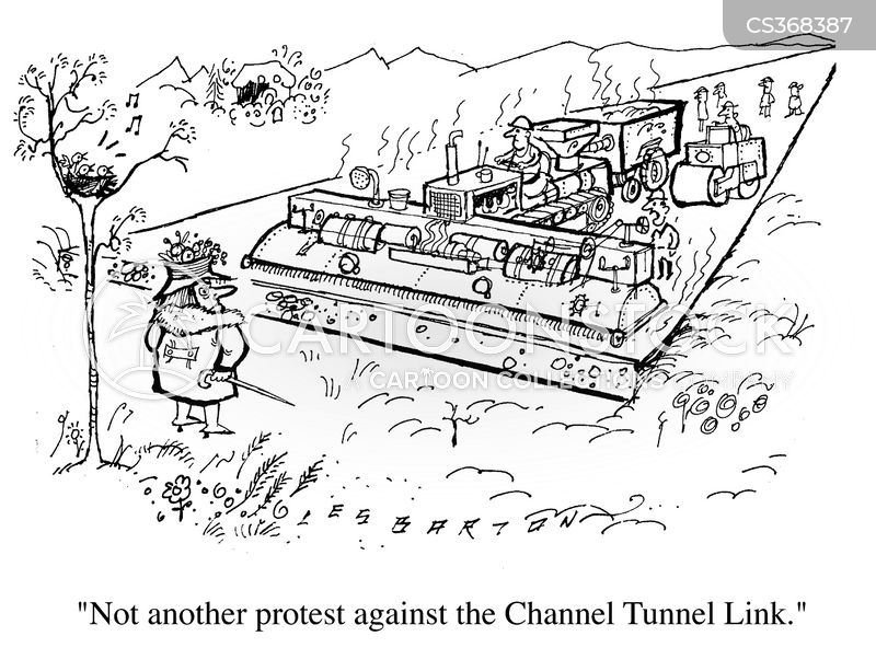 Channel Tunnel Cartoons and Comics - funny pictures from ...