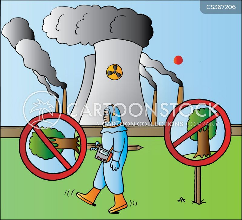 Power Plant Cartoon Cartoon Nuclear Power Plant