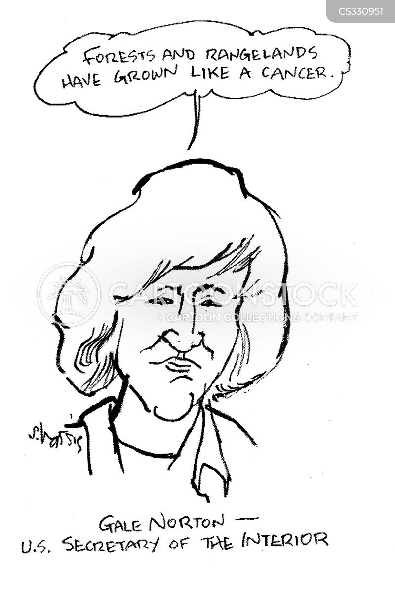 Secretary of the interior cartoons and comics funny pictures from cartoonstock for James watt secretary of the interior