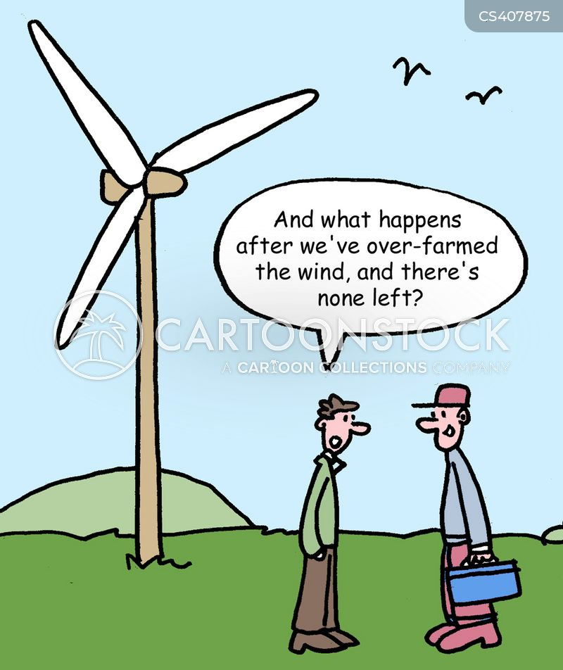 Windfarms Cartoons And Comics Funny Pictures From