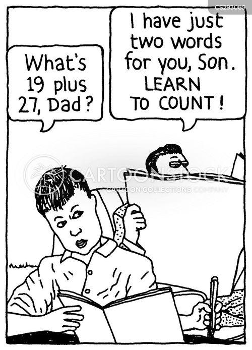 Funny math homework