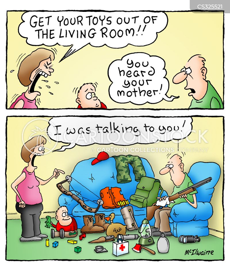 Room Tidy Cartoons And Comics Funny Pictures From