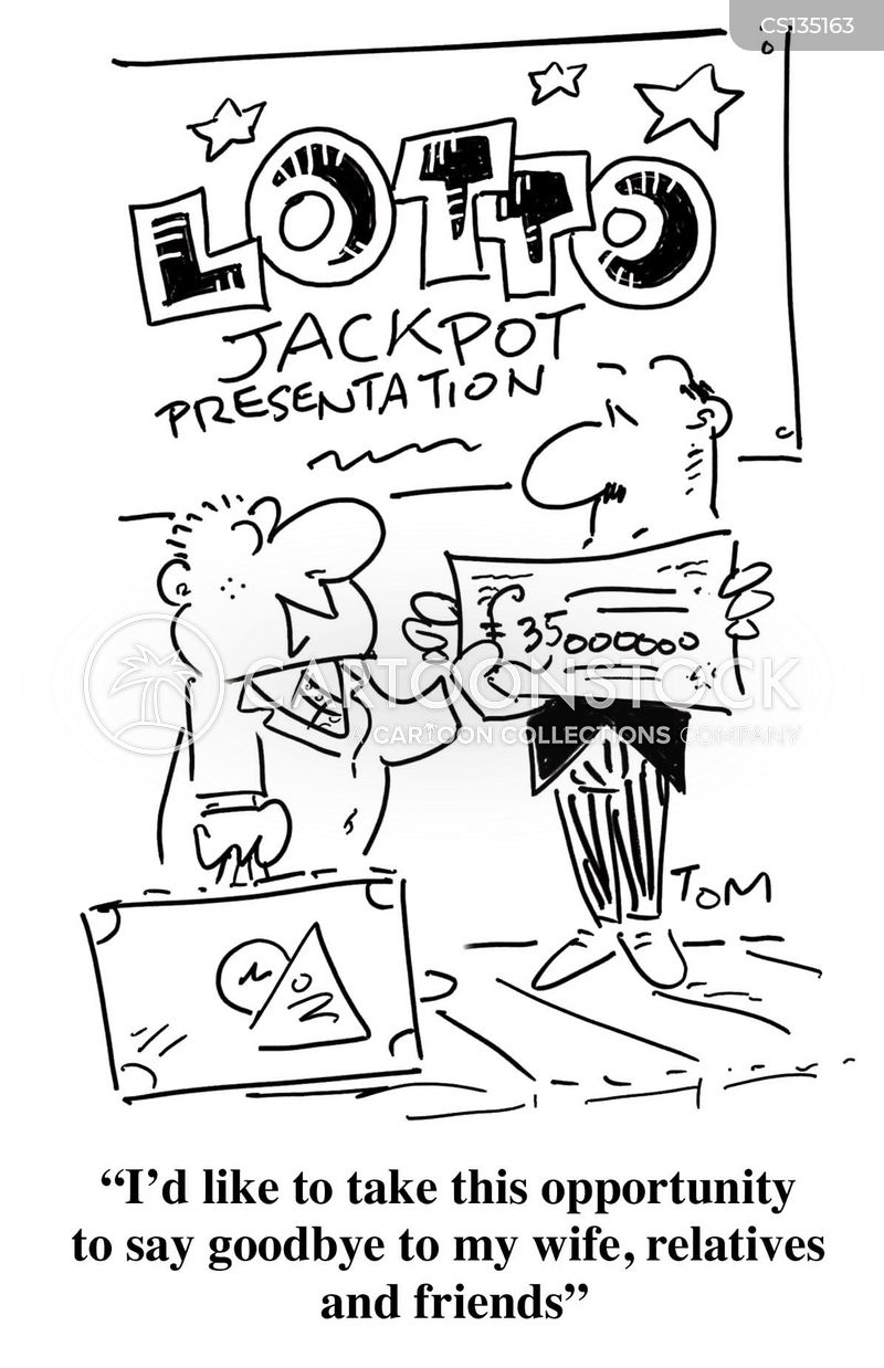 Lottery Win Cartoons And Comics Funny Pictures From