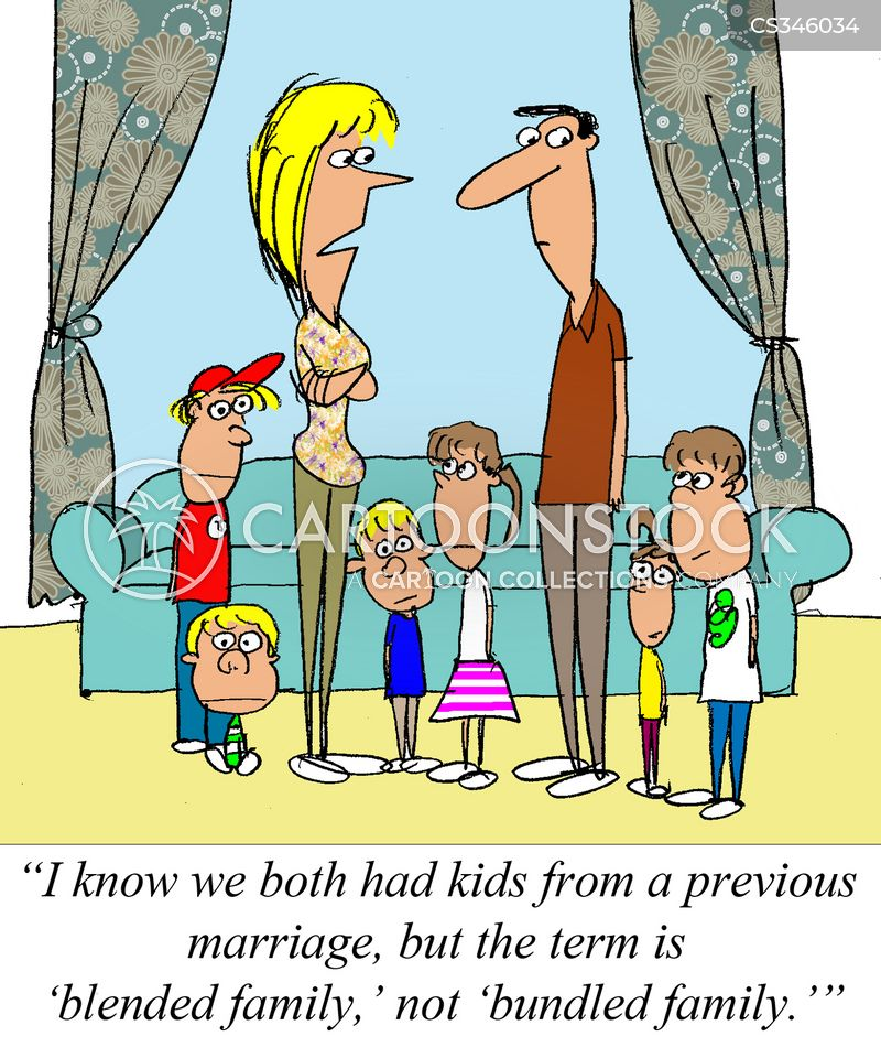 Step Family Cartoons And Comics Funny Pictures From