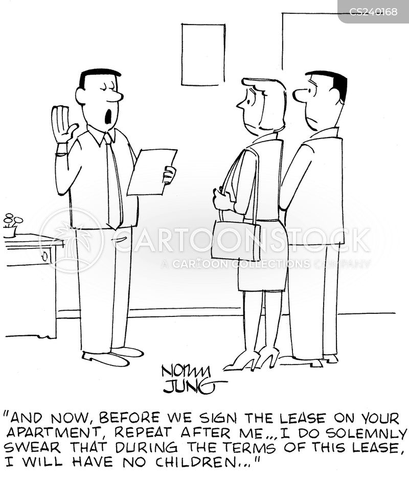 Renter Cartoons And Comics Funny Pictures From Cartoonstock