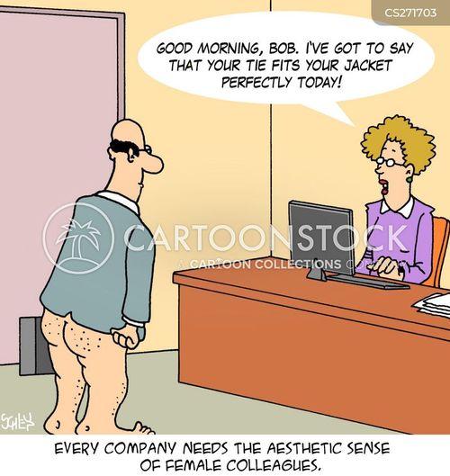 Female Colleagues cartoons, Female Colleagues cartoon, funny, Female ...