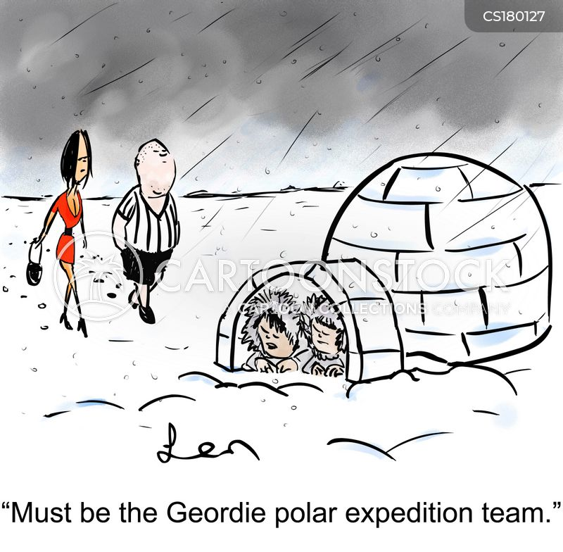 Polar Expedition Cartoons and Comics