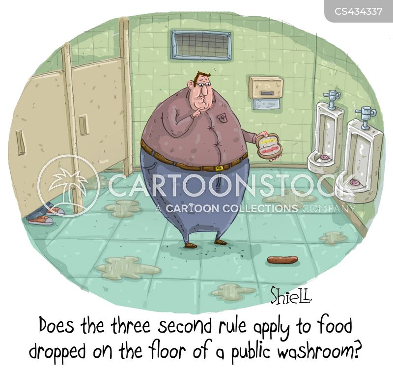 Five Second Rule Cartoons And Comics Funny Pictures From