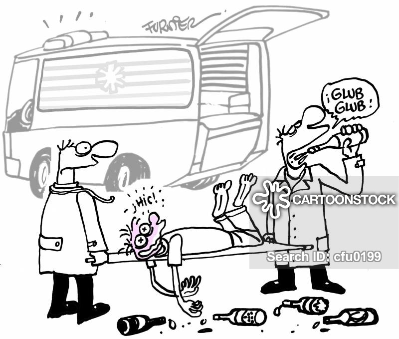 Ambulance Driver Cartoons and Comics - funny pictures from ...