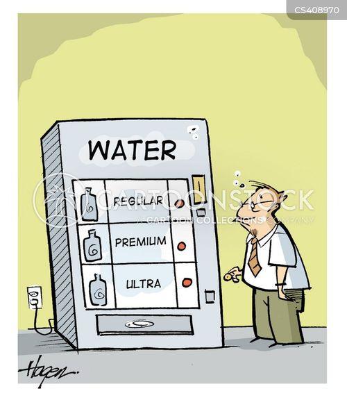water drinks machine