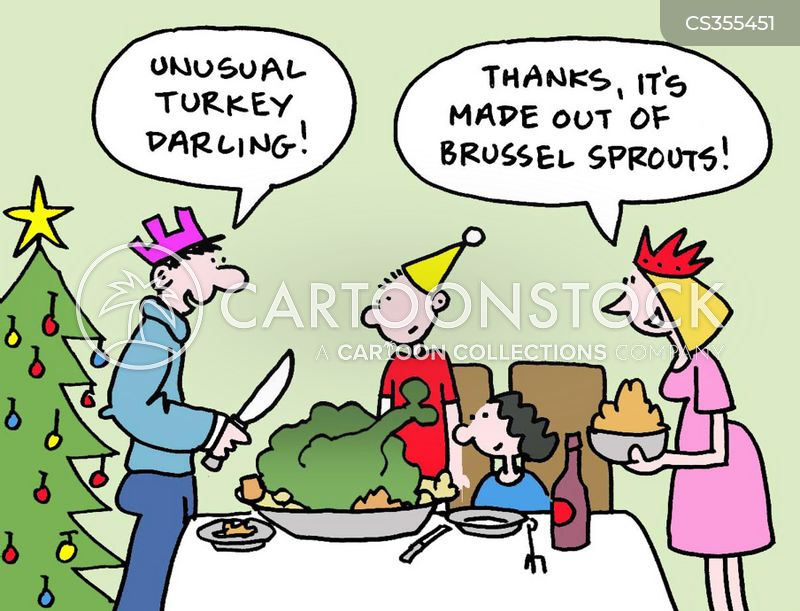 thanksgiving lunch cartoons and comics   funny pictures