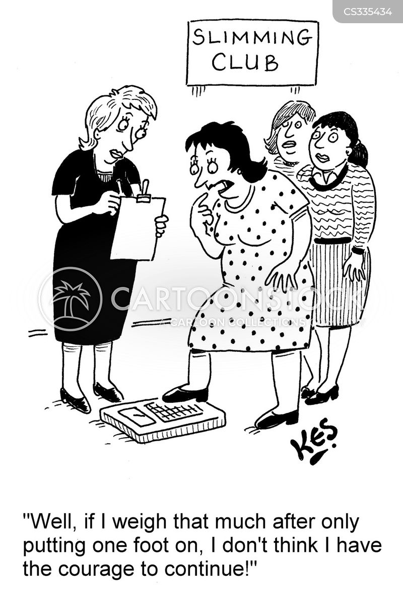 Slimming Club Cartoons And Comics Funny Pictures From