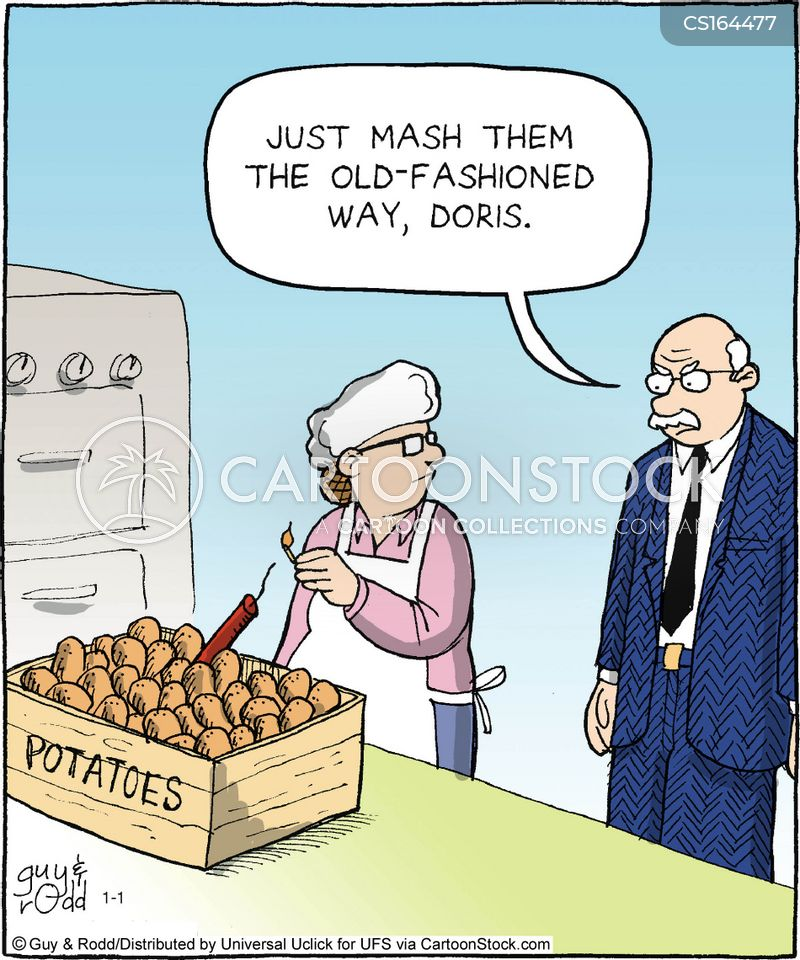 Potato Cartoons And Comics Funny Pictures From Cartoonstock