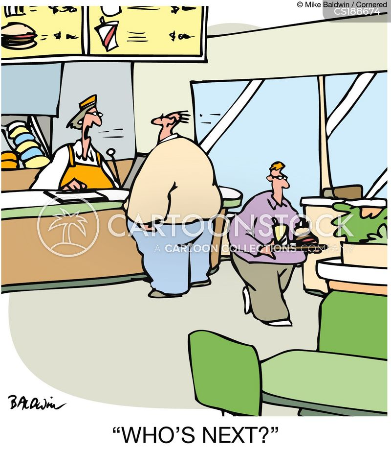 Fast Food Restaurants Cartoons And Comics Funny Pictures