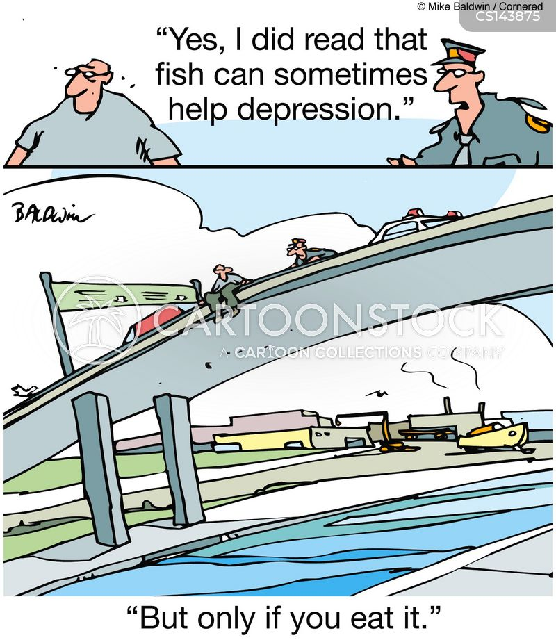 Fish Oil Cartoons and Comics - funny pictures from CartoonStock