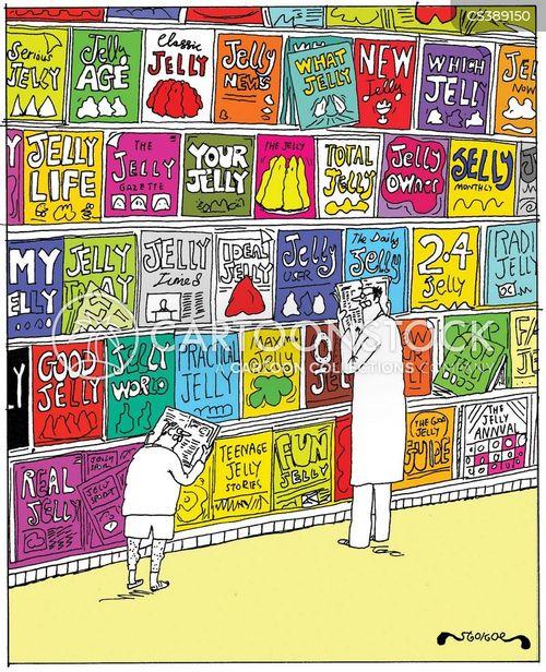Magazine Stores Cartoons And Comics