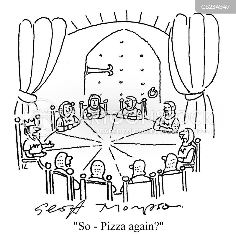Round Table Cartoons And Comics
