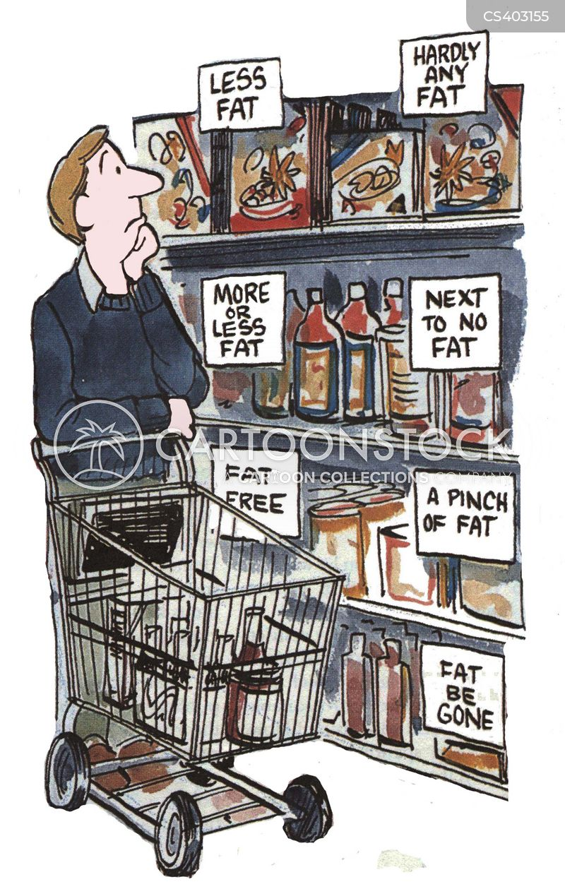 Low Fat Cartoons and Comics - funny pictures from CartoonStock