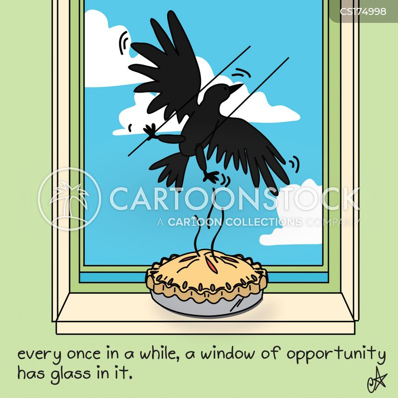 Window of opportunity cartoons and comics funny pictures for Window of opportunity