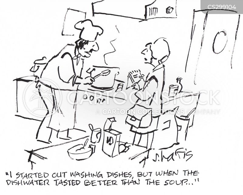 Funny Restaurant Kitchen Jokes