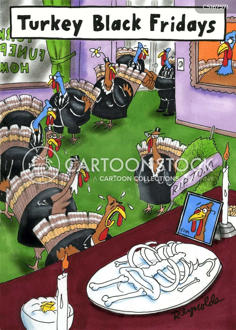 Thanksgiving Turkey Cartoons and Comics - funny pictures ...