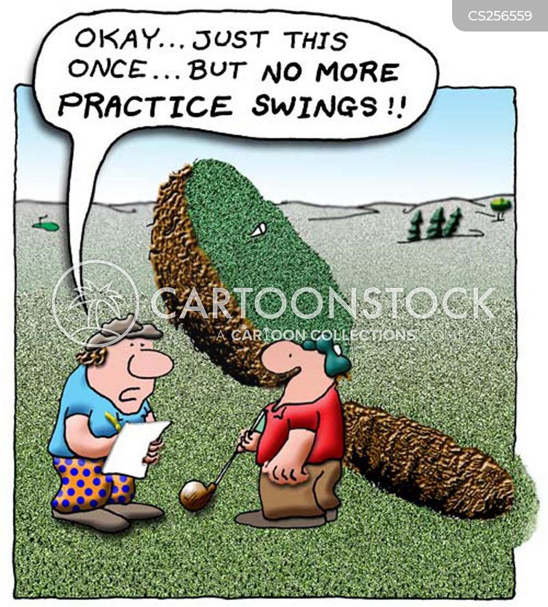 Bad Golfer Cartoons And Comics Funny Pictures From