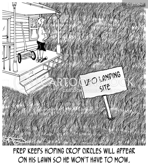 Crop Circles Cartoons And Comics
