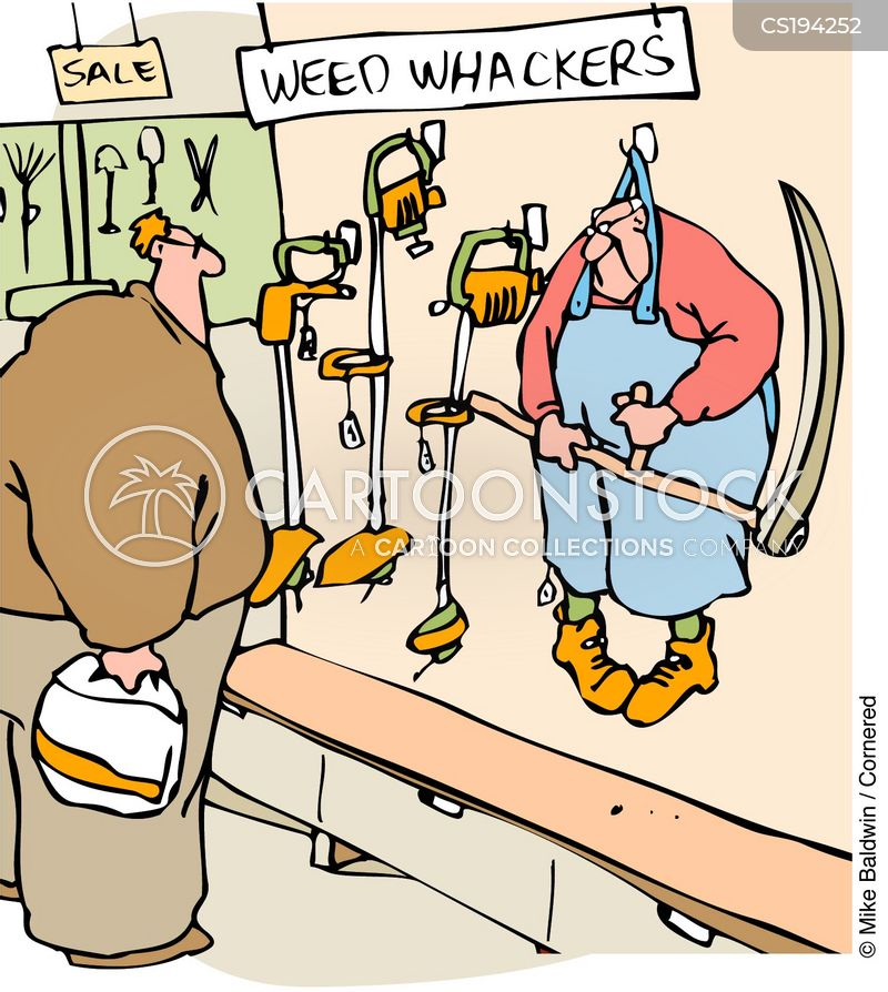 Weed Wacker Cartoons And Comics Funny Pictures From