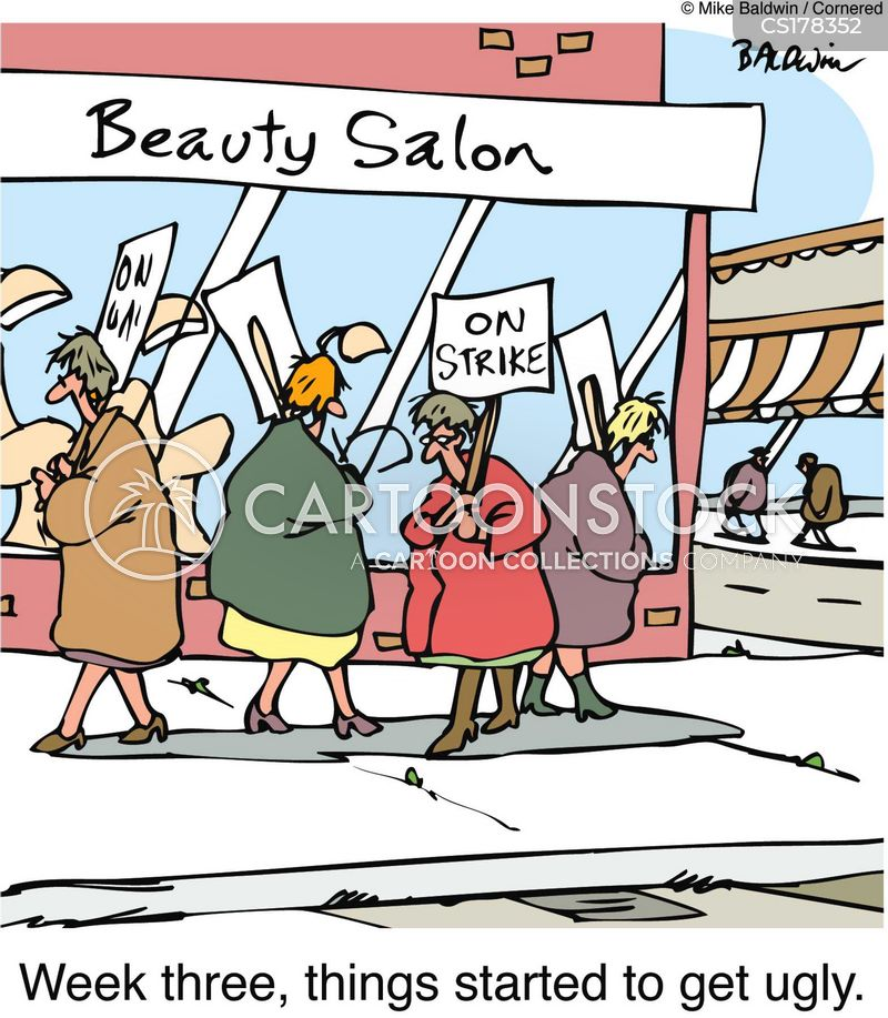 beauty salon cartoons and comics funny pictures from