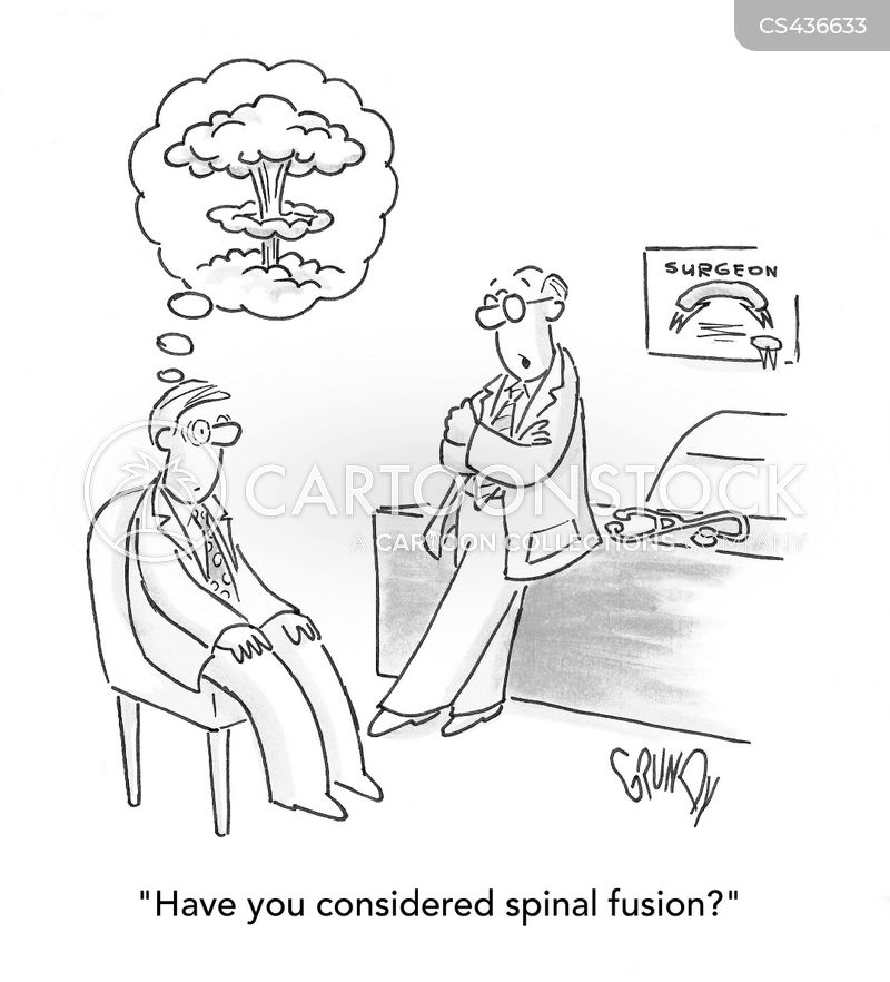 Spinal Fusion Surgery Cartoons and Comics - funny pictures ...