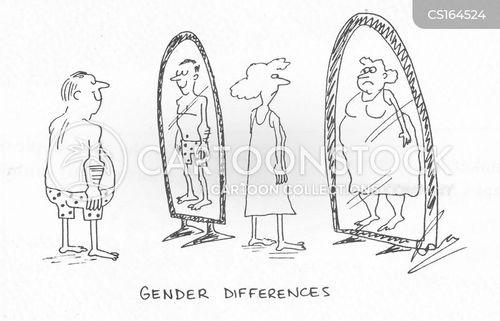 Gender Cartoons Gender Cartoon Funny Gender Picture